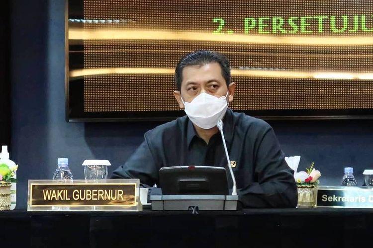 Wakil Gubernur Kaltim, Hadi Mulyadi.