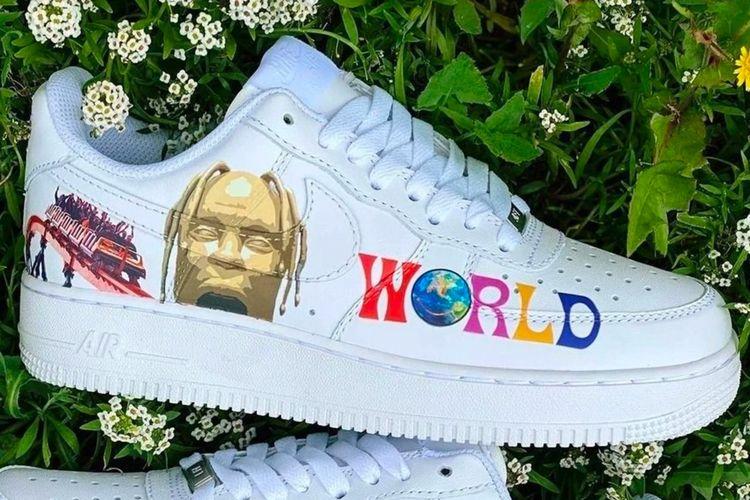 Sepatu custom dari Drip Creationz