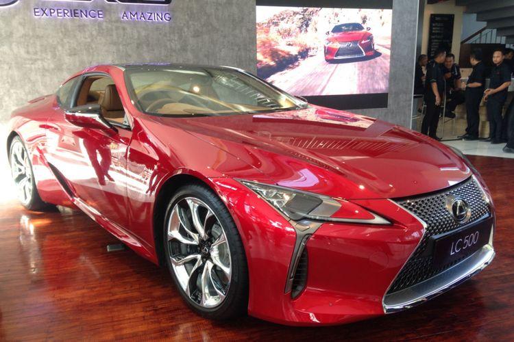 Lexus LC500 terbaru.