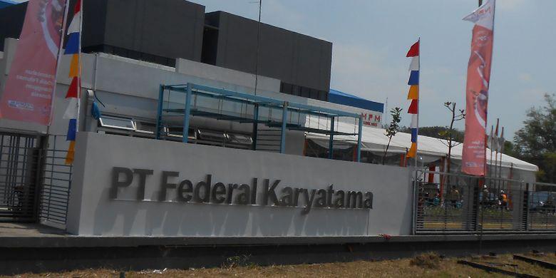 Pabrik Federal Oil di Kawasan Krakatau Industrial Estate Cilegon, Banten,