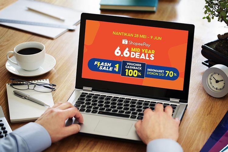 Program 6.6 ShopeePay Mid Year Deals.