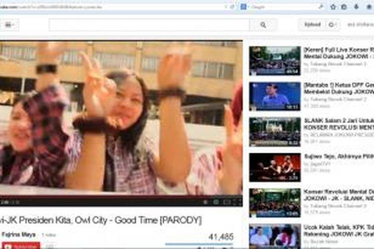 Jokowi-JK Presiden Kita, Owl City - Good Time [PARODY]
