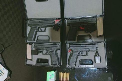 Polisi yang Terlibat Pencurian 7 Pistol Terancam Penjara dan Pemecatan