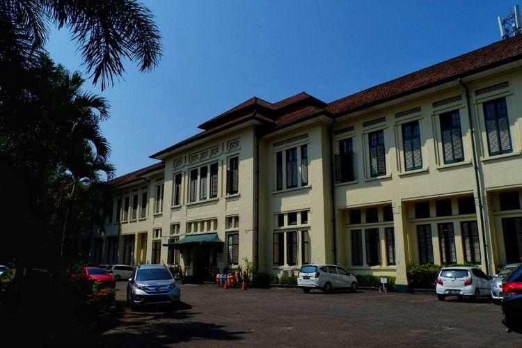 Suasana SMAN 3 dan SMAN 5 Bandung.