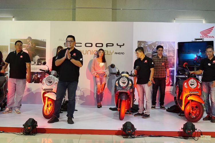 Astra Motor Jateng meluncurkan All New Scoopy secara virtual.