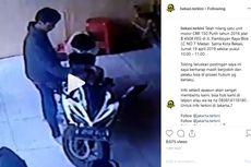 Pencurian Motor Honda CBR di Bekasi Tertangkap CCTV