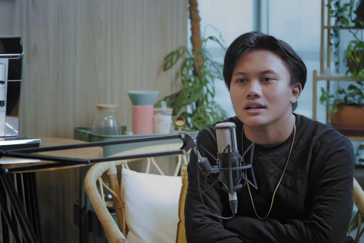 Rizky Febian (tangkapan layar kanal YouTube CXO Media)