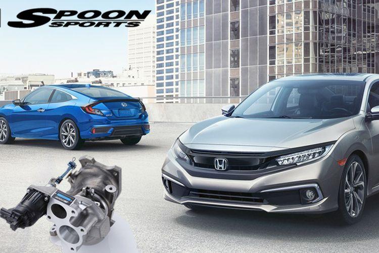 Spoon Sports mengeluarkan piranti Turbo untuk Honda Civic.
