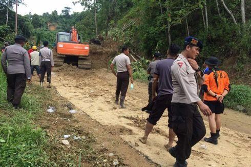 Hujan Deras di Tolitoli, 20 Titik Longsor Tutup Jalan Trans Sulawesi