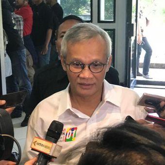 Politisi Aria Bima saat ditemui di Kantor Komisi Pemilihan Umum (KPU), Jakarta Pusat, Jumat (4/1/2019).
