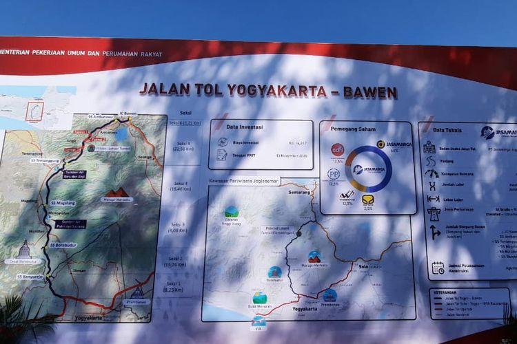 Perjanjian Pengusahaan Jalan Tol (PPJT) Tol Yogyakarta-Bawen diteken Jumat (13/11/2020) oleh konsorsium PT Jasamarga Jogja Bawen.