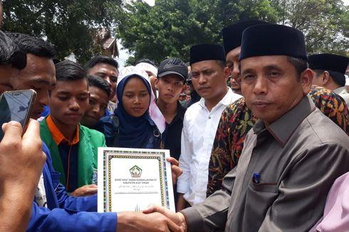 Didesak Mahasiswa, Anggota DPRK Aceh Tengah Akhirnya Surati Jokowi Tolak UU KPK