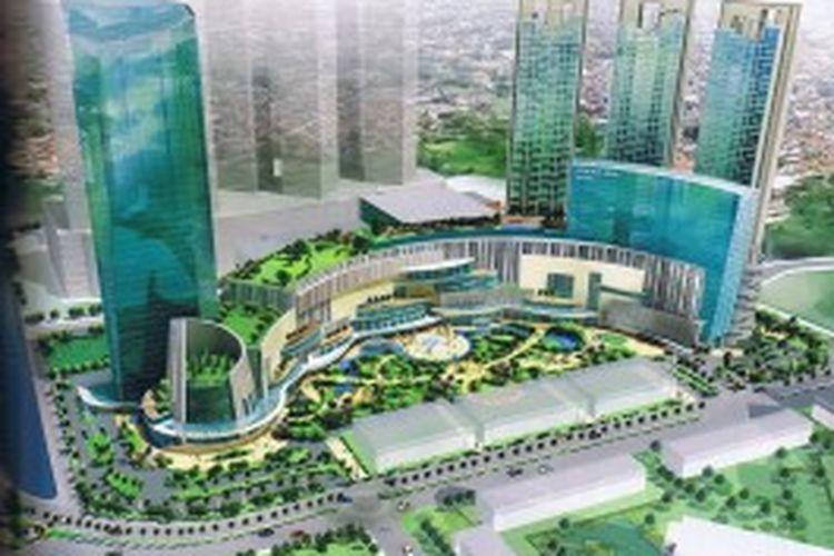 Podomoro City Extension merupakan penyumbang terbesar terhadap total penjualan marketing, sebanyak Rp 1,3 triliun.
