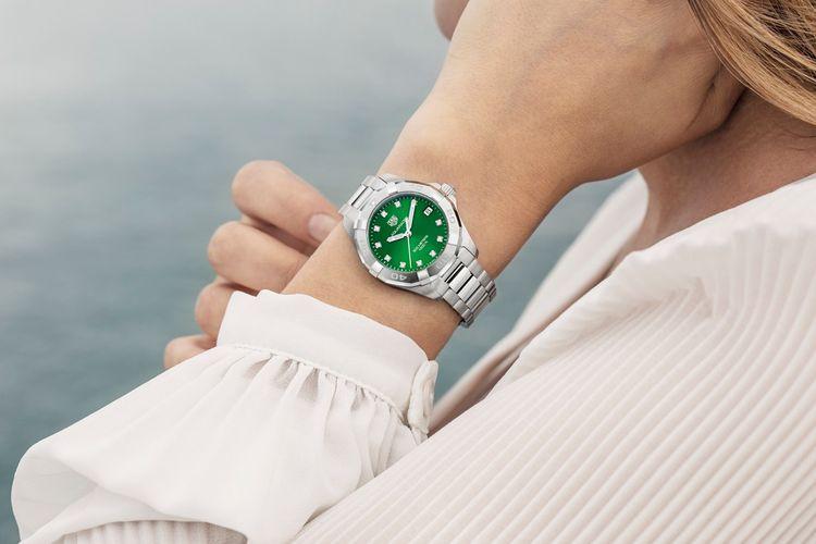 Tag Heuer Emerald Green Dials