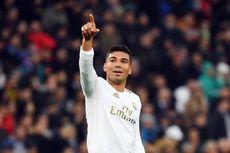 Hasil Madrid Vs Sevilla, Dwigol Casemiro Perpanjang Kutukan Tim Tamu