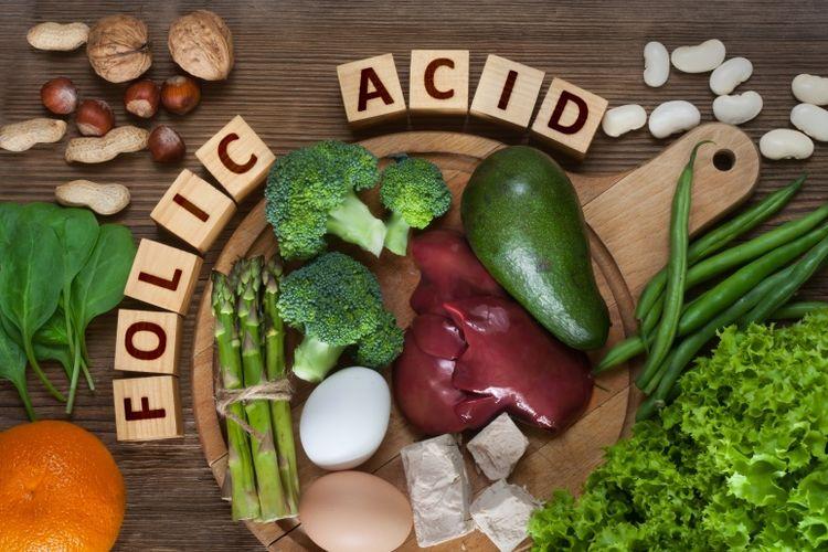 Deretan makanan yang kaya asam folat (Dok. Shutterstock)