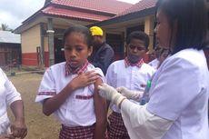 Imunisasi MR di Teluk Bintuni Capai 100 Persen