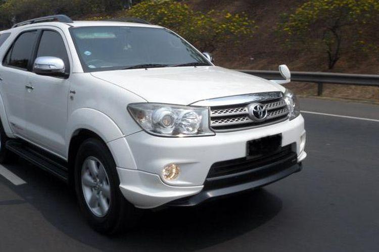 Fortuner menjadi salah satu andalan SUV Toyota.
