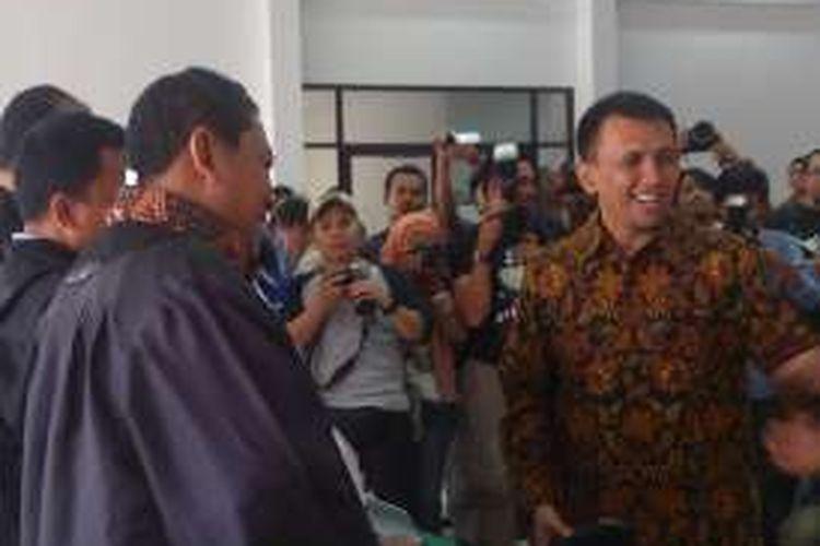 Mantan Gubernur Sumut Gatot Pujo Nugroho divonis enam tahun di Pengadilan Tipikor Medan, Kamis (24/11/2016)