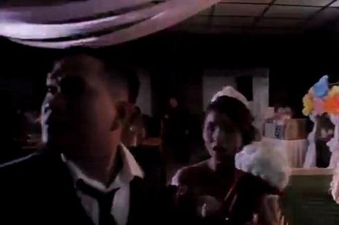 Momen Siklon Tropis Mangkhut di Filipina Kacaukan Pesta Pernikahan