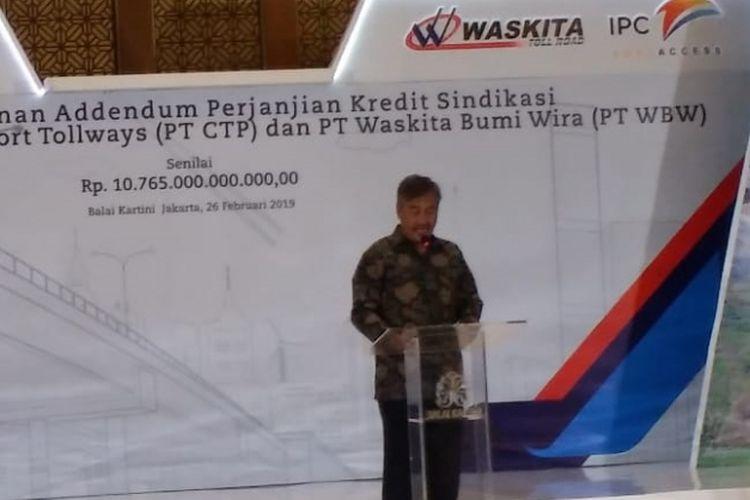 Direktur Utama PT Waskita Bumi Wira (WBW) Herwidiakto.