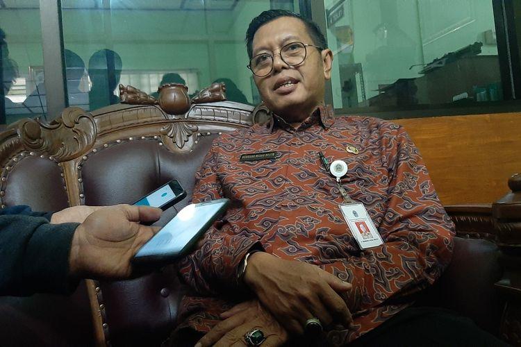 Kepala Dinas Pertanian dan Pangan Gunungkidul Bambang Wisnu Broto di Kantornya Jumat (10/1/2020)