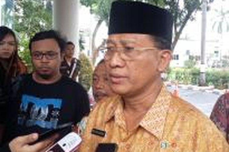 Jaksa Agung Muda Tindak Pidana Khusus (Jampidsus) Widyo Pramomo, saat ditemui di Gedung Jampidsus, Kejaksaan Agung, Jakarta Selatan, Jumat (13/2/2015).