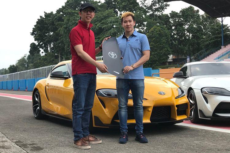 Pemilik Pertama Toyota GR Supra di Indonesia