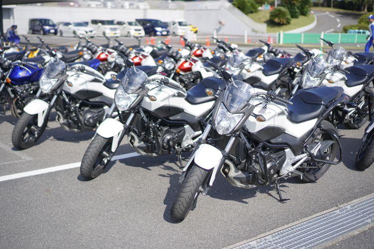Kompetisi Safety Riding dalam Safety Japan Instructor Competition diselenggarakan Honda di Sirkuit Suzuka, Jepang pada 3-4 Oktober 2019