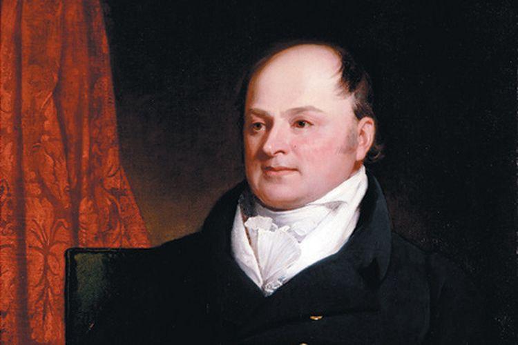 Perancang Doktrin Monroe, Menteri Luar Negeri Amerika Serikat John Quincy Adams.