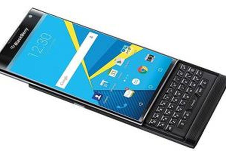 Bocoran foto BlackBerry Priv berbasis Android