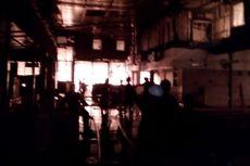 Diduga Korslet, Pabrik Mebel di Demak Terbakar