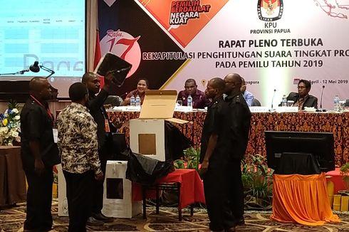 Sistem Noken, Jokowi-Ma'ruf Menang dengan 44.408 Suara di Deiyai Papua