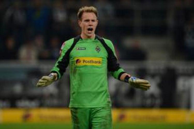Kiper Borussia Moenchengladbach, Marc-Andre ter Stegen.