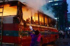 Jelang Pemilu Banglades, Massa Bakar TPS