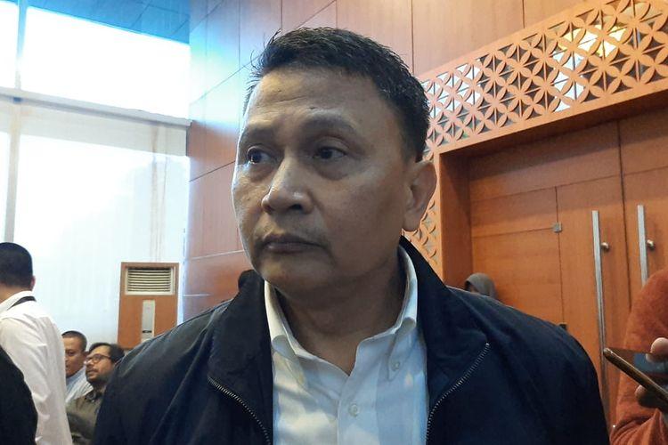 Ketua DPP PKS Mardani Ali Sera di DPR, Senayan, Jakarta, Selasa (4/2/2020).