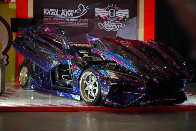 BlackAuto Modify dibagi menjadi dua kelas, yaitu kelas Contest Car dan kelas Culture Car.
