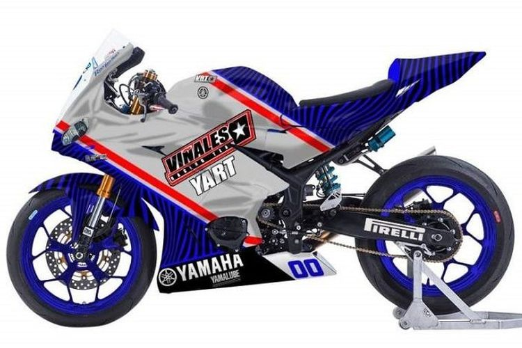 Motor balap Vinales Racing Team