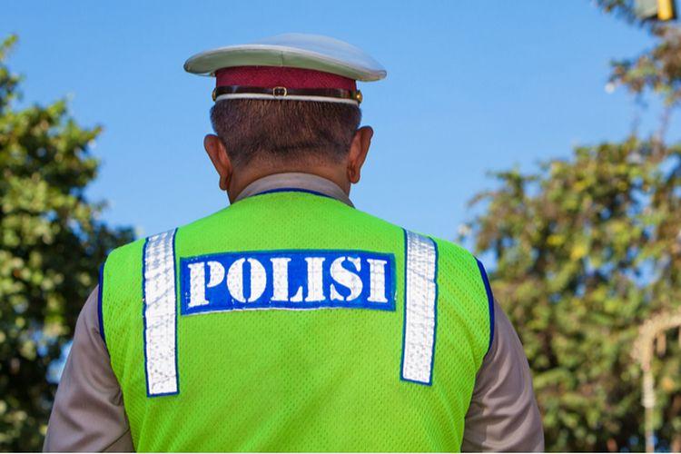 Ilustrasi polisi.