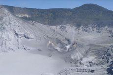 Waspadai Bahaya Gas Beracun di Kawah Gunung Tangkuban Parahu