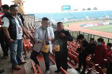 Persib Bandung Vs PSS Sleman, Stadion SJH Disemprot Cairan Disinfektan