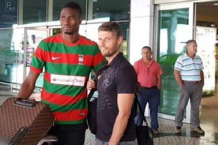 Calon striker Persebaya, Amido Balde, asal Guinea-Bissau yang membela klub Libya, Al-Nasr Benghazi.