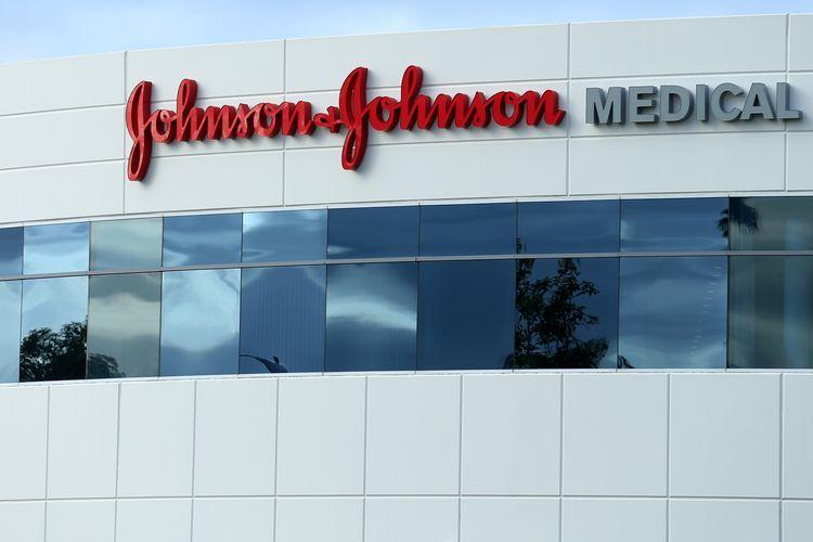 Gedung Johnson & Johnson di Irvine, California, AS. Gambar diambil pada 24 Januari 2017.