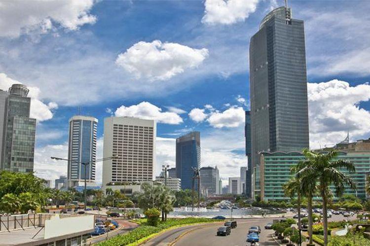 Ilustrasi: Kota sebagai pusat pertumbuhan menarik penduduk desa untuk melakukan urbanisasi