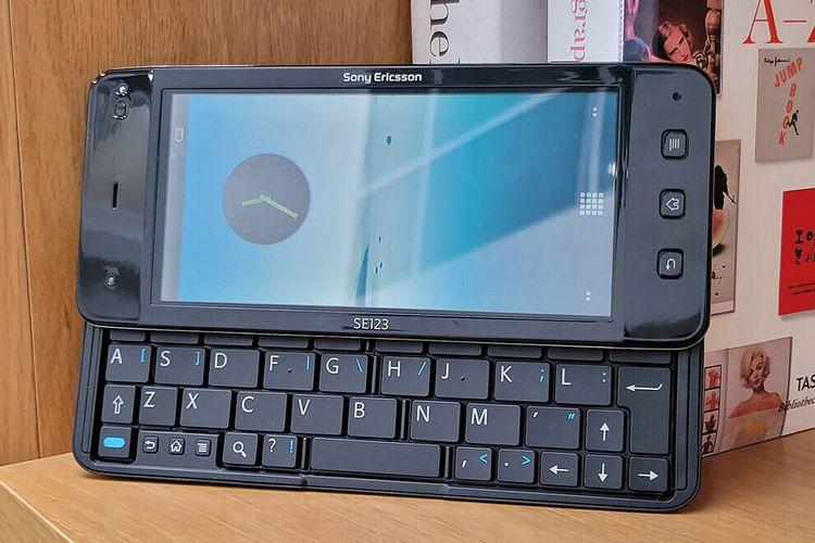 Wujud prototipe Sony Ericcson Viao