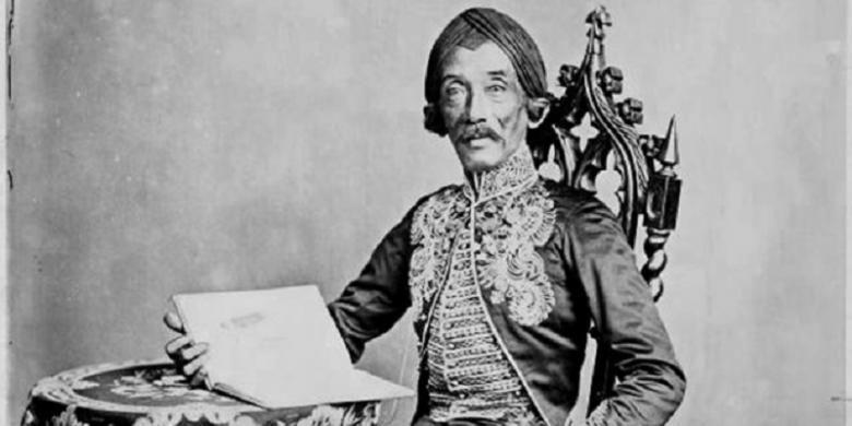Raden Saleh Sjarief Boestaman (1811-1880), yang difoto oleh Woodbury & Page sekitar 1872. (Koleksi Koninklijk Instituut voor Taal-, Land- en Volkenkunde