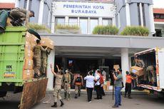 Kasus Covid-19 Tinggi, Pemkot Surabaya Terima Ribuan Baju Hazmat dan Masker KN95 dari Kemenkes
