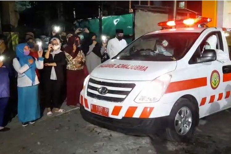 Seorang perawat di Kota Probolinggo yang terinfeksi Covid-19 meninggal dunia, Senin (13/7/2020).