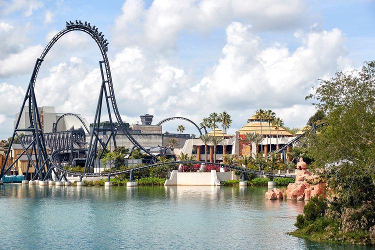 Tempat wisata bernama Universal Orlando Resort di Florida, Amerika Serikat (dok. Facebook Universal Orlando Resort   KEVIN KOLCZYNSKI).