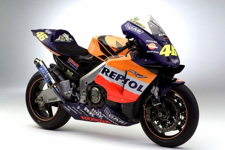 Honda RC211V - Evolusi motor balap tim Repsol Honda yang selalu raih gelar juara dunia